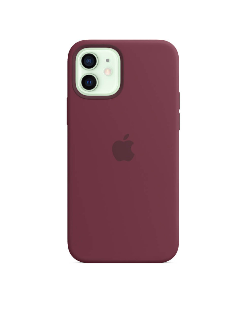 iPhone 12   12 Pro Silicone Back Cover Case with MagSafe price in Bangladesh