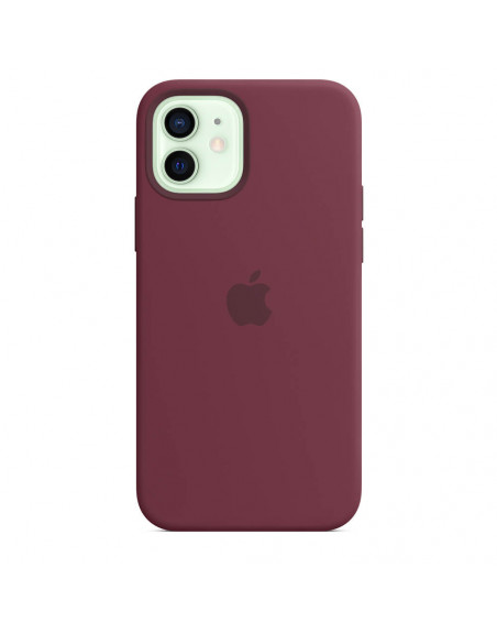 iPhone 12 | 12 Pro Silicone Back Cover Case with MagSafe